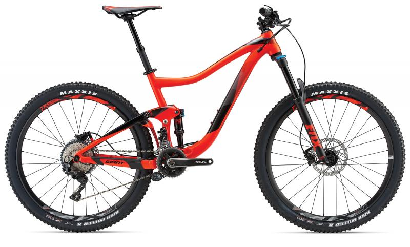 Giant Trance 2 Neon Red 2018 - 27.5 -