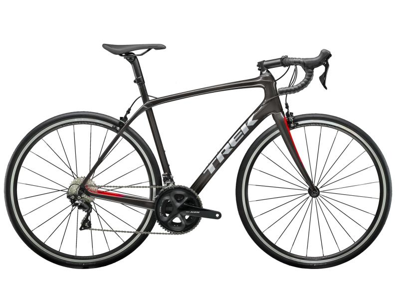 Trek DOMANE SL 5 - 28 -  Dnister Black/Viper Red 2019