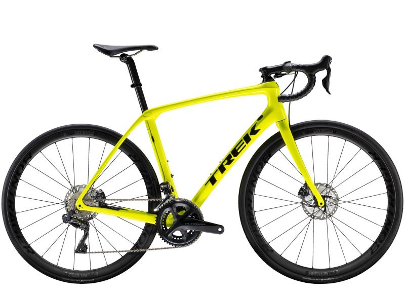 Trek DOMANE SLR 7 DISC - 28 -  Radioactive Yellow/Trek Black 2019