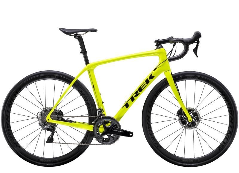 Trek DOMANE SLR 8 DISC - 28 -  Radioactive Yellow/Trek Black 2019