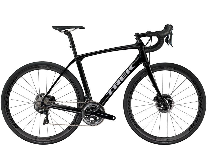 Trek DOMANE SLR 8 DISC - 28 -  Trek Black/Quicksilver 2019