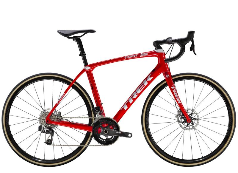 Trek DOMANE SLR 9 ETAP DISC - 28 -  Viper Red/Trek White 2019