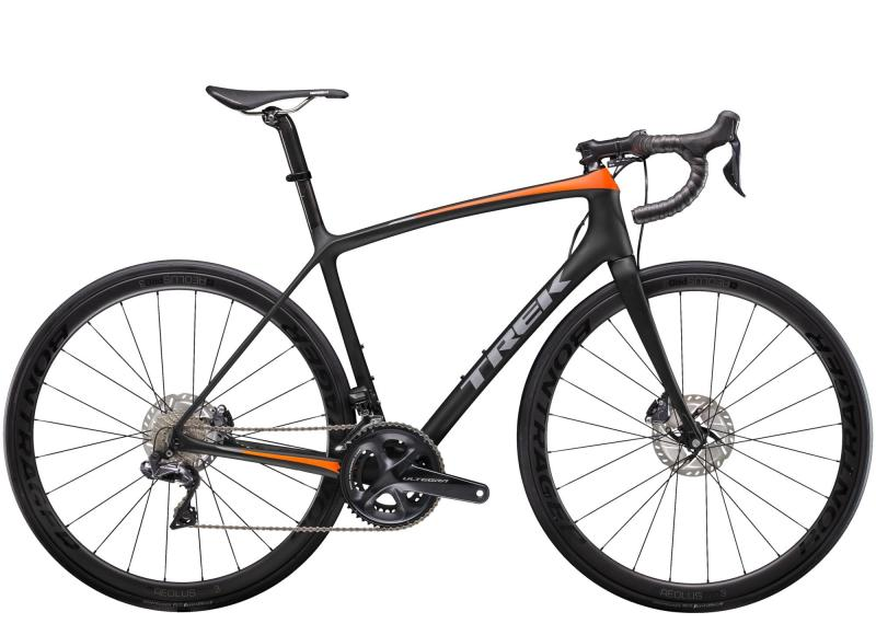 Trek EMONDA SLR 7 DISC - 28 -  Matte Trek Black/Radioactive Orange 2019