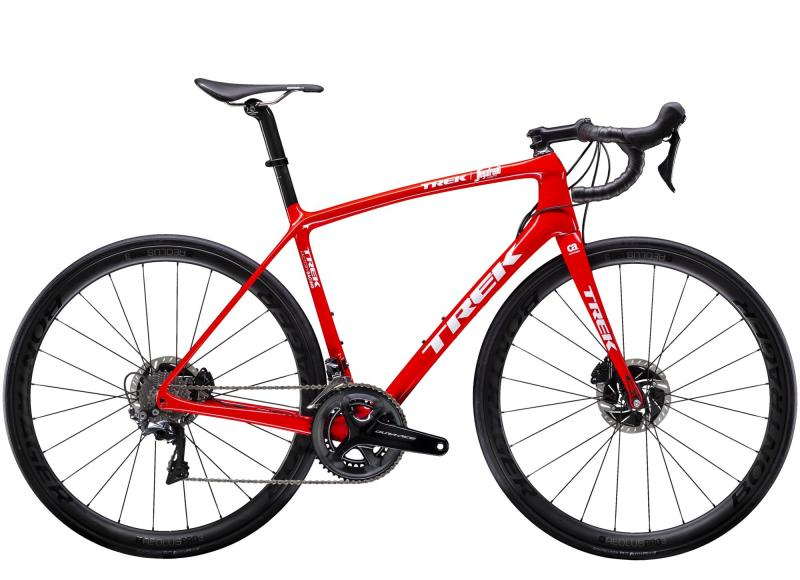 Trek EMONDA SLR 8 DISC - 28 -  Viper Red/Trek White 2019