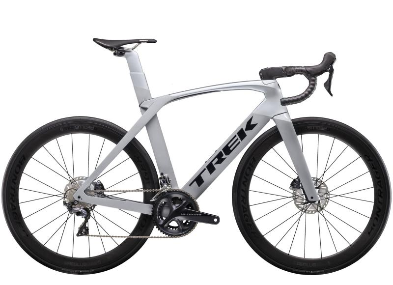 Trek MADONE SLR 6 DISC - 28 - Matte Gravel/Gloss Quicksilver 58
