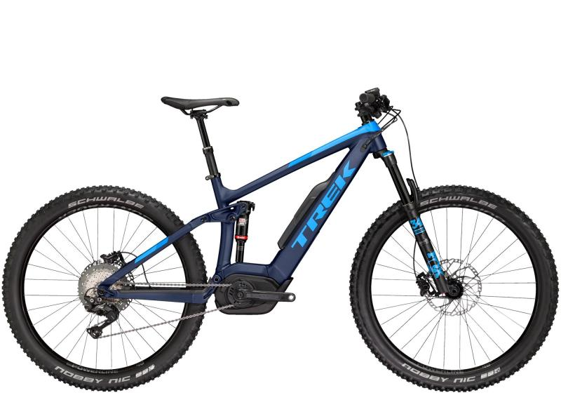 Trek POWERFLY FS 8 LT - 27.5 -  Matte Deep Dark Blue/Gloss Waterloo Blue 2019