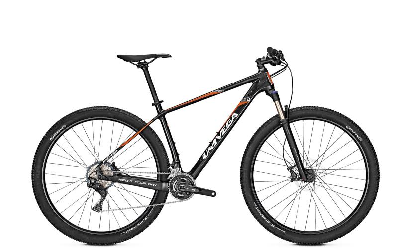 Univega SUMMIT LTD CARBON - 29 Diamant Freilauf -  black matt 2019