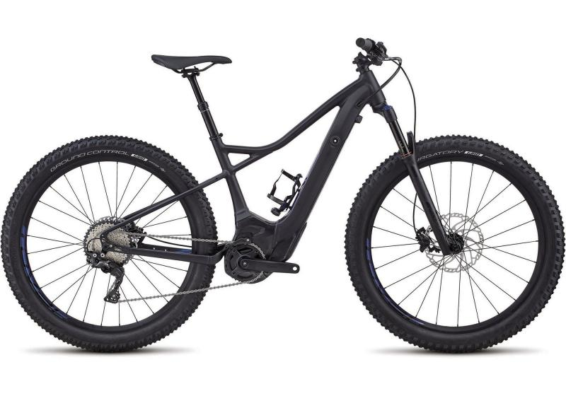 Specialized Women's Turbo Levo Hardtail Comp 6Fattie - 27.5 -  Satin Gloss Black/Chamaleon Decals 2019