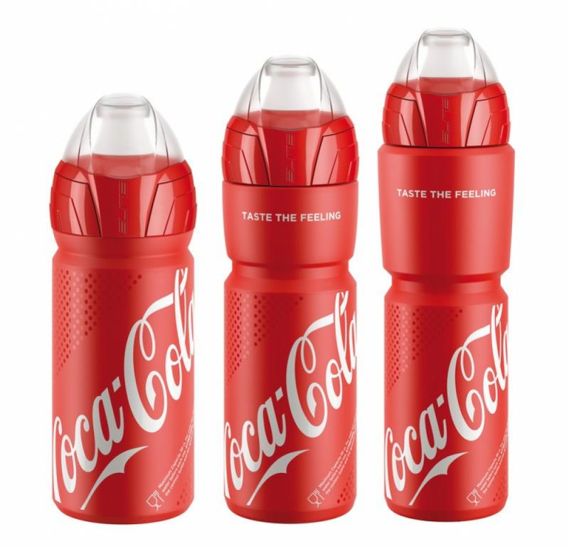 Trinkflasche Elite Ombra Coca Cola 550ml rot Auswahl