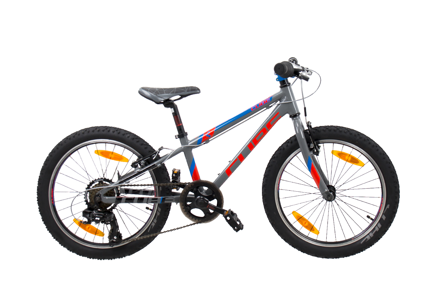 Cube Kid 200 action team grey 2019 - MTB 20 -  20 Zoll