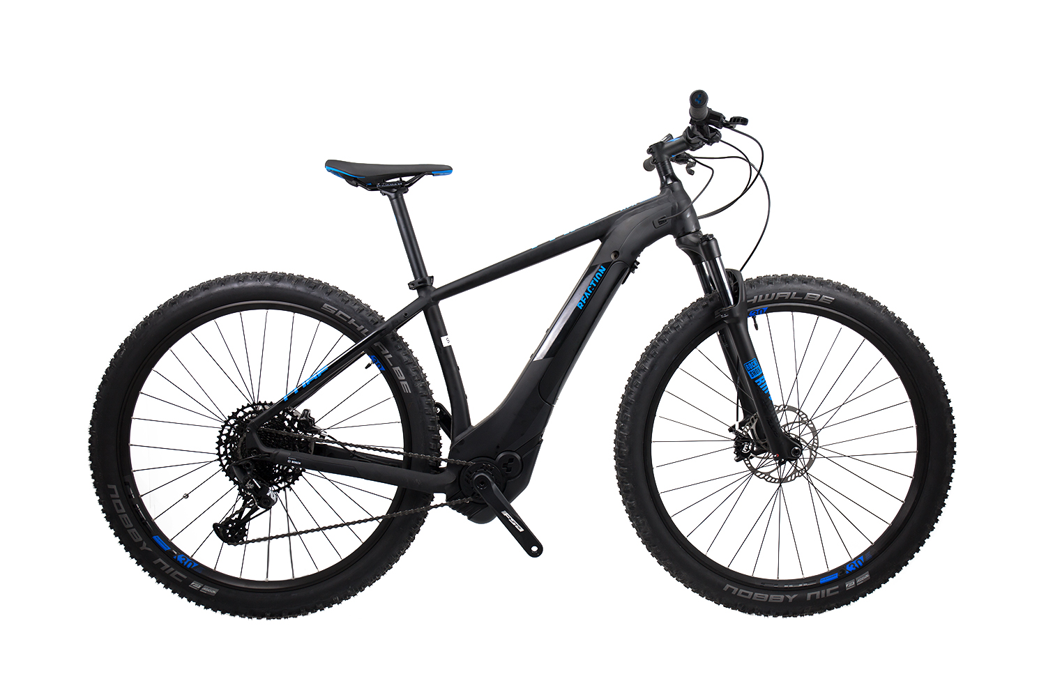 Cube Reaction Hybrid EAGLE 500 black´n´blue 2019 - MTB 29 -  17 Zoll
