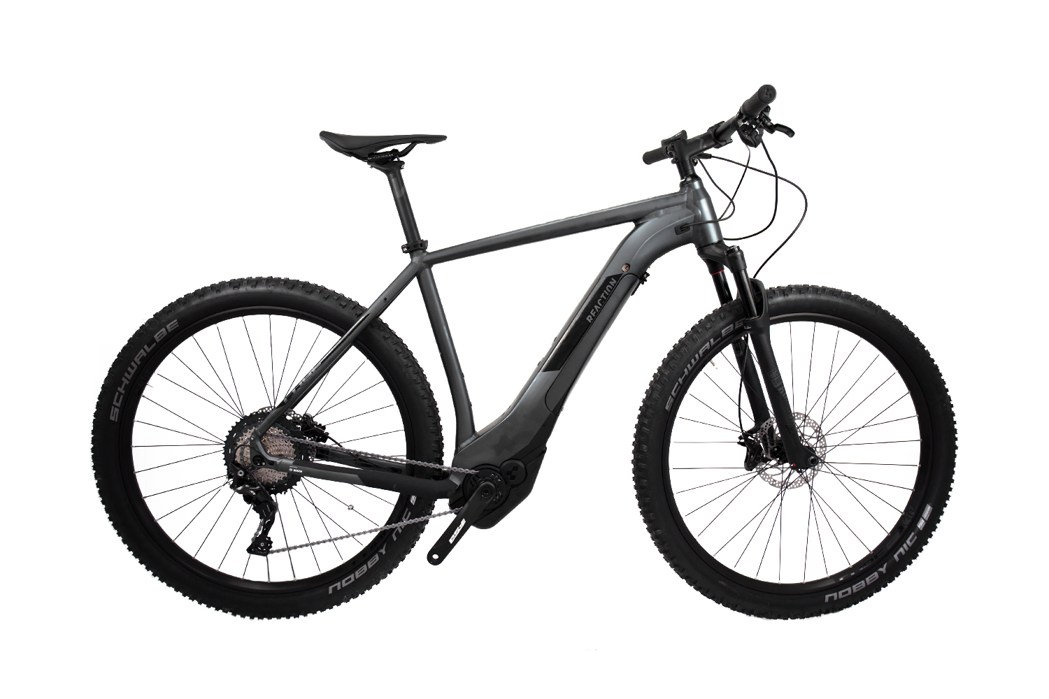 Cube Reaction Hybrid SL 500 iridium´n´black 2019 - MTB 29 -  19 Zoll