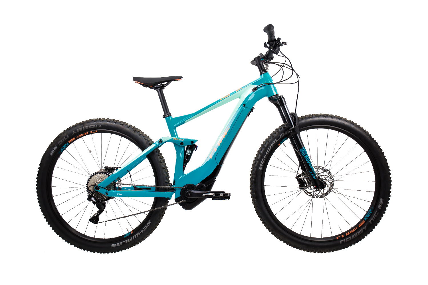 Cube Sting Hybrid 120 Race 500 turquoise´n´apricot 2019 - 29 -  19 Zoll
