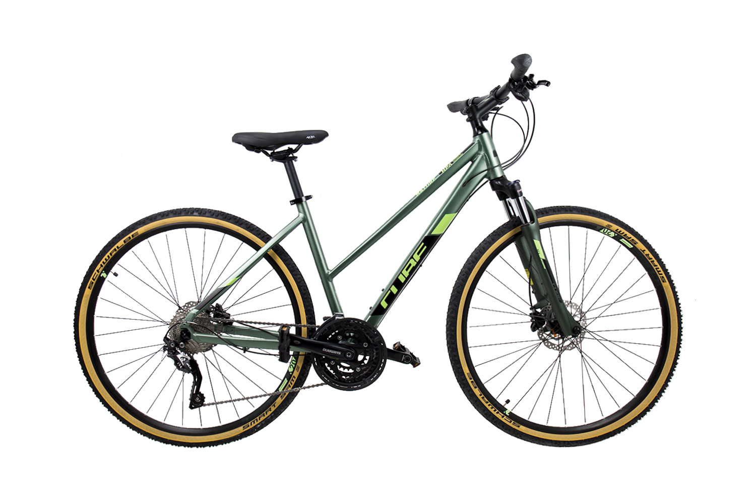 Cube Nature EXC green´n´black 2019 - Trapeze 28 -  46 cm