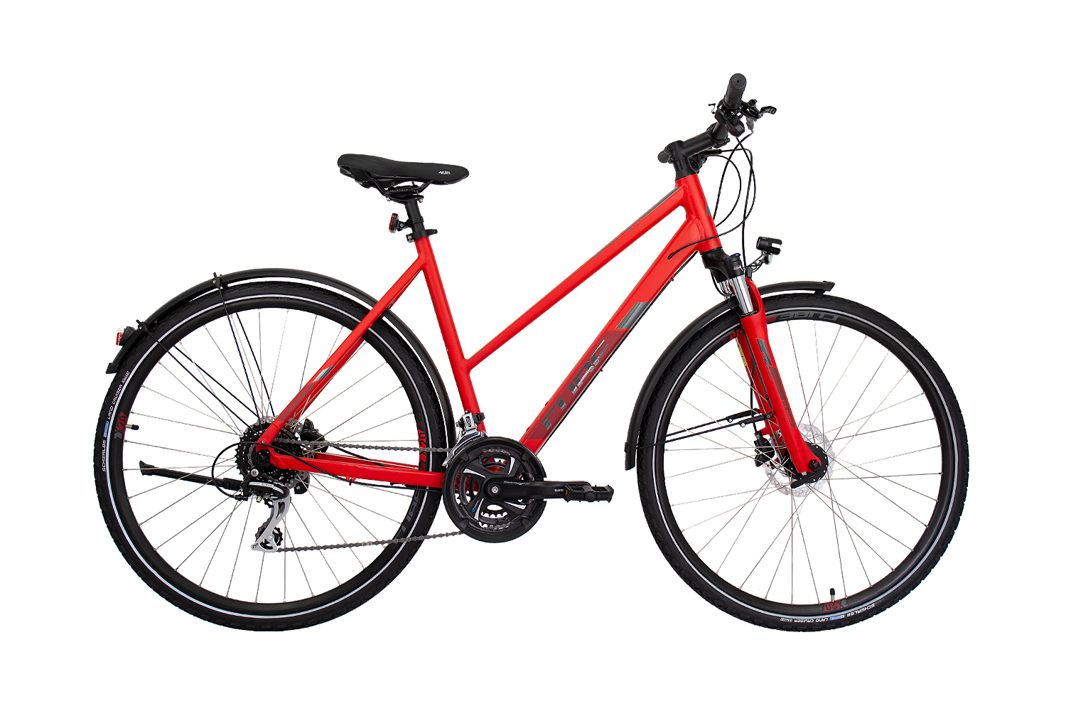 Cube Nature Allroad red´n´grey 2019 - Trapeze 28 -  54 cm