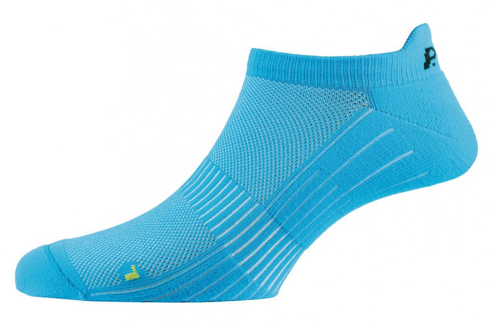 Socken P.A.C. Active Footie Short SP 1.0 women neon blue Gr.38-41 Auswahl