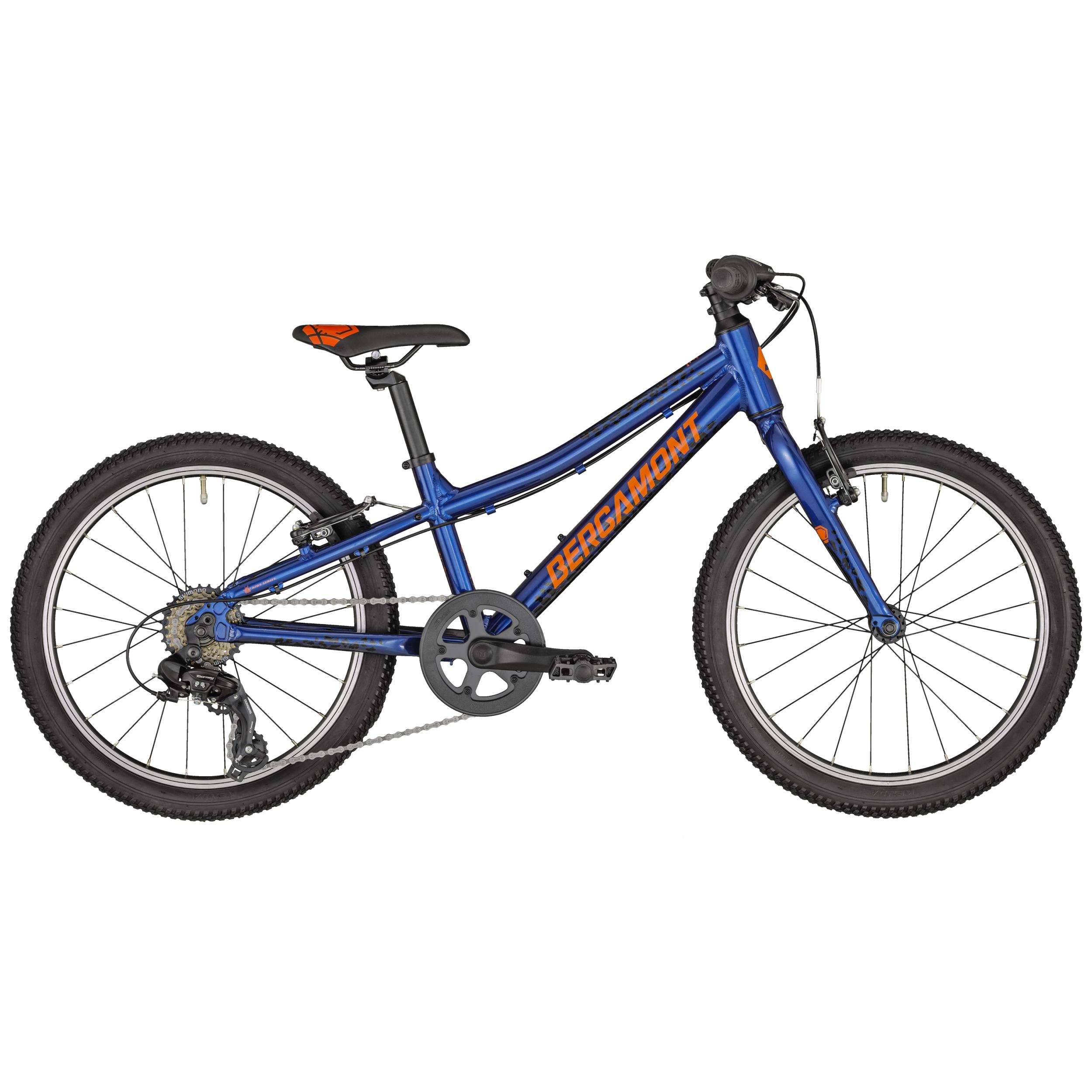 Bergamont Bergamonster 20 Boy atlantic blue/black/orange (shiny) 2020 - 20 -