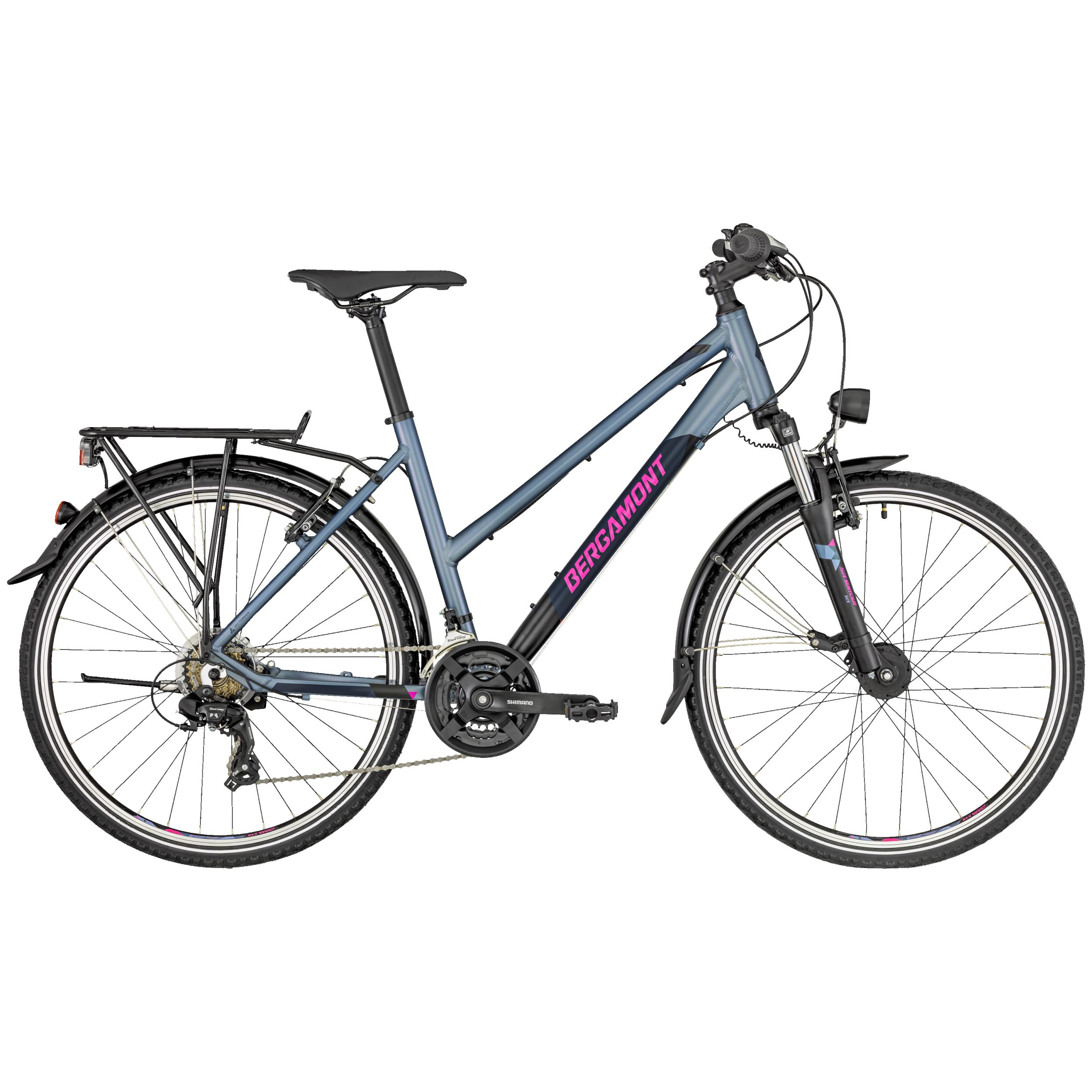 Bergamont Revox ATB 26 Lady silver/dark grey/berry (matt)