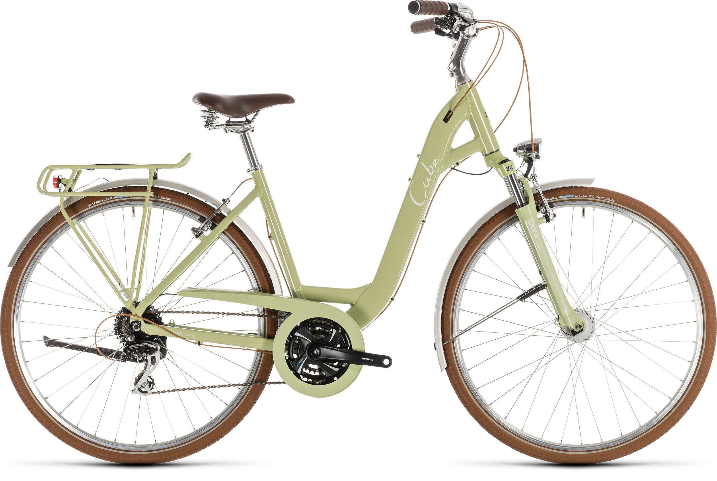 Cube Ella Ride green´n´white 2019 - Easy Entry 28 -  49 cm
