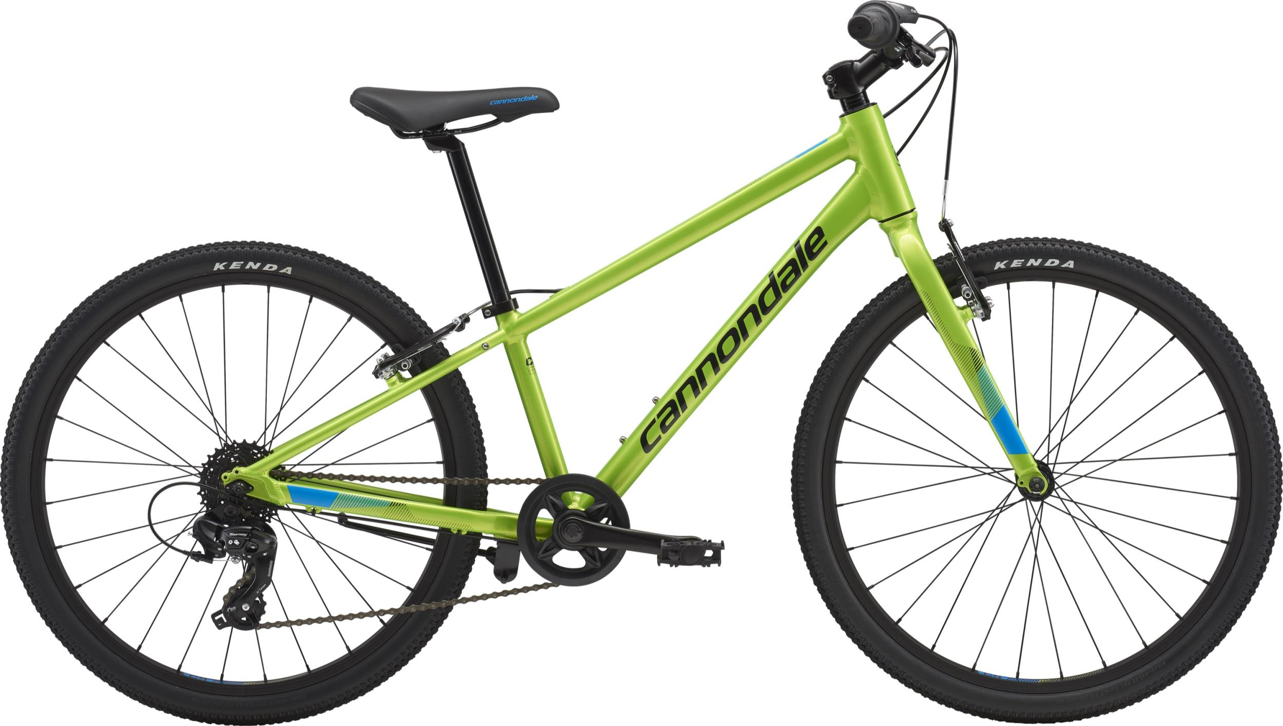 Cannondale Kids QUICK 24 BOY'S AGR OS Acid Green w/ Spectrum and Jet Black, Gloss 2018