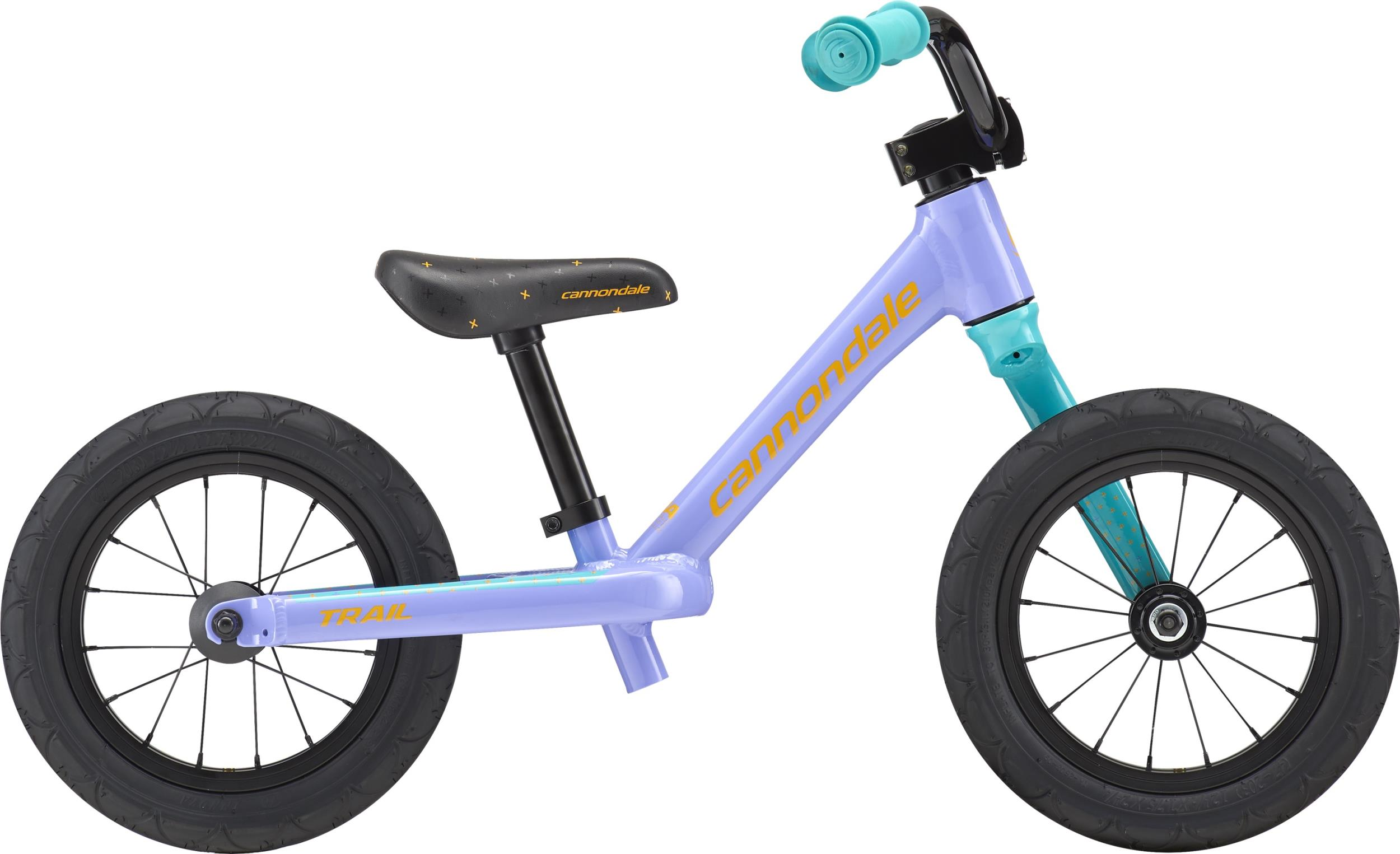 Cannondale Trail Balance 12 GIRL'S VTN OS Violet Tonic w/ Nitro and Turquoise, Gloss 2018