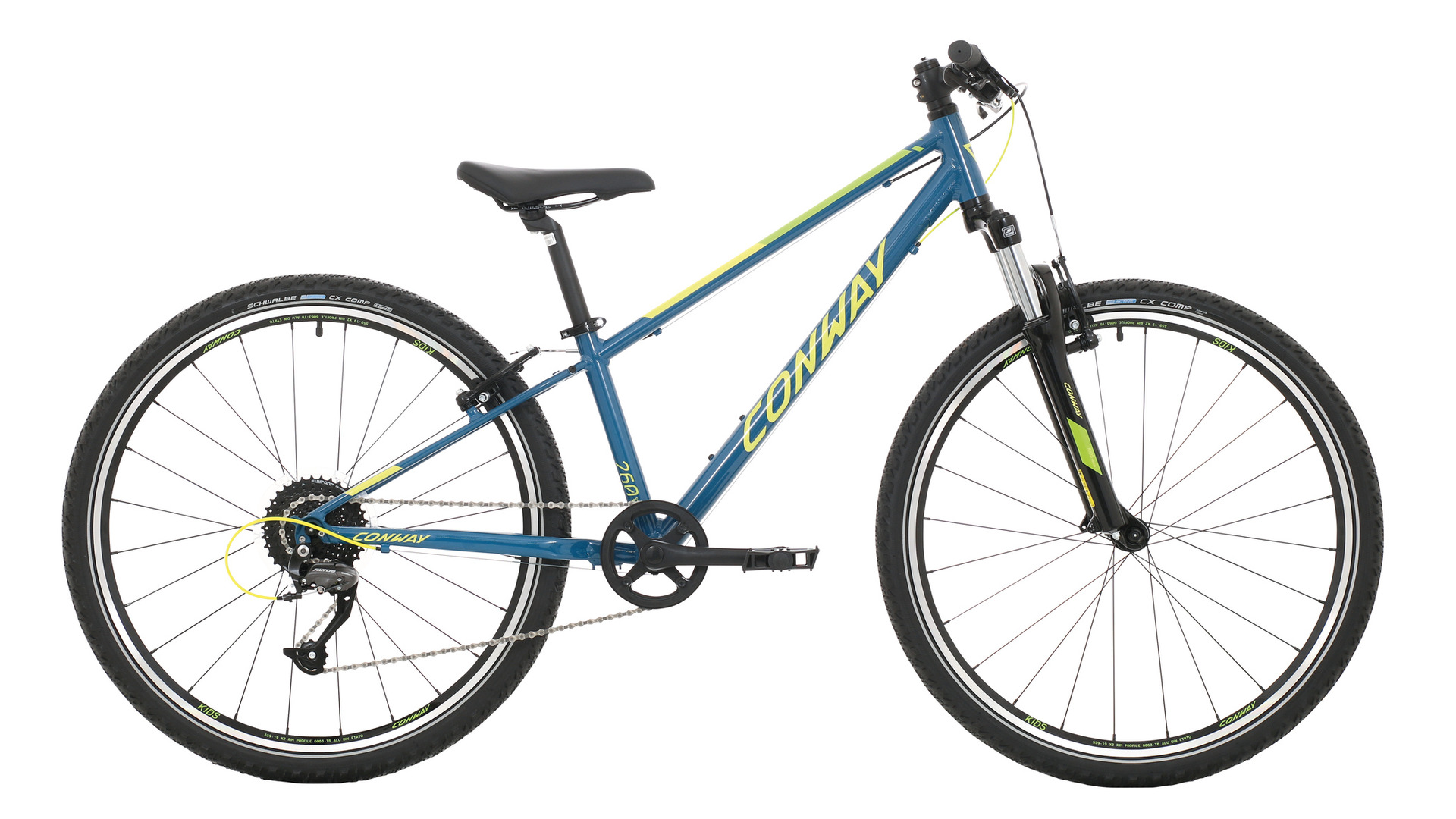 """Conway MS 260 - Diamant 26"""" 9-Gang -  blue/lime 2019"""