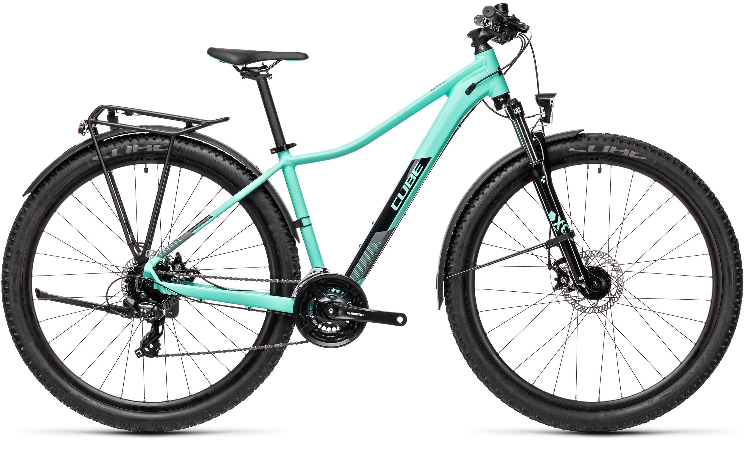 Cube ACCESS WS ALLROAD Mint´n´black  2021 - 27,5