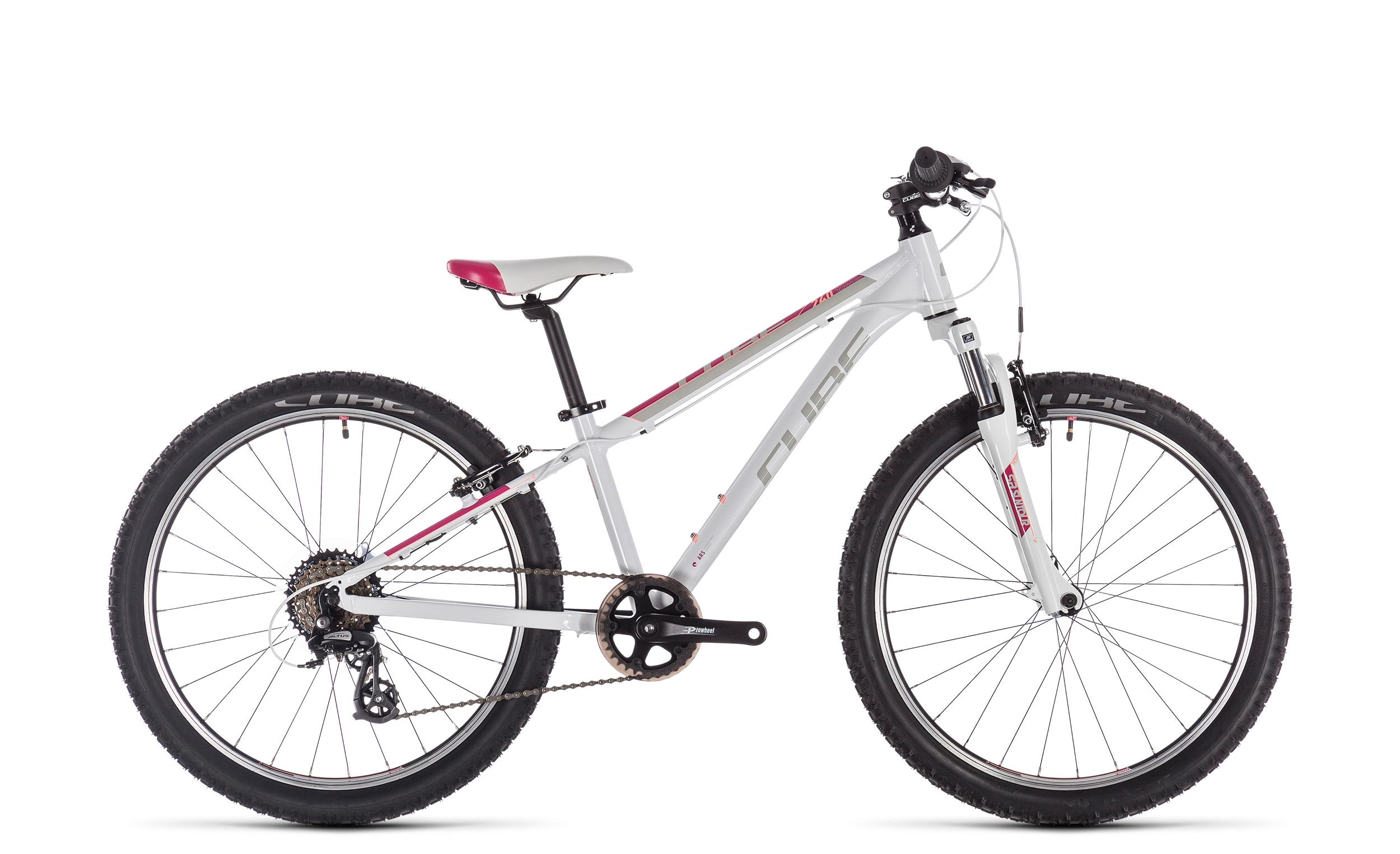 Cube Access 240 white´n´red´n´coral 2020 - Diamant -  24 Zoll
