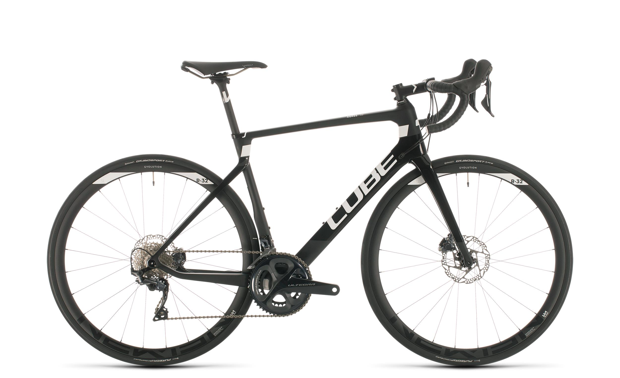 Cube Agree C:62 Race - Diamant -  carbon´n´white 2020