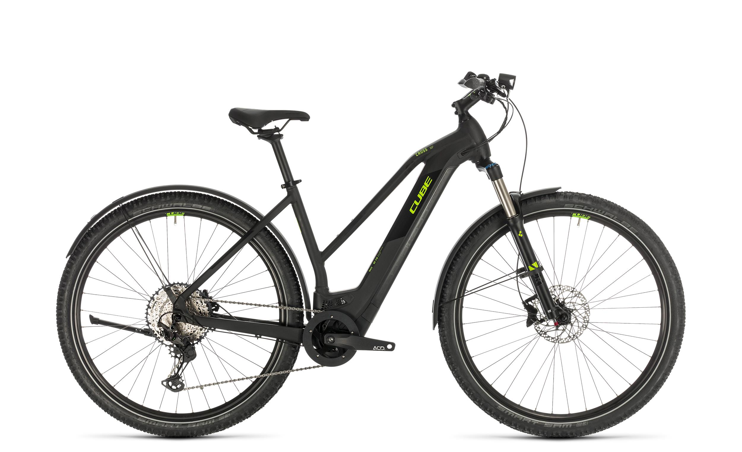 Cube Cross Hybrid Race 625 Allroad - Trapeze -  black´n´green 2020