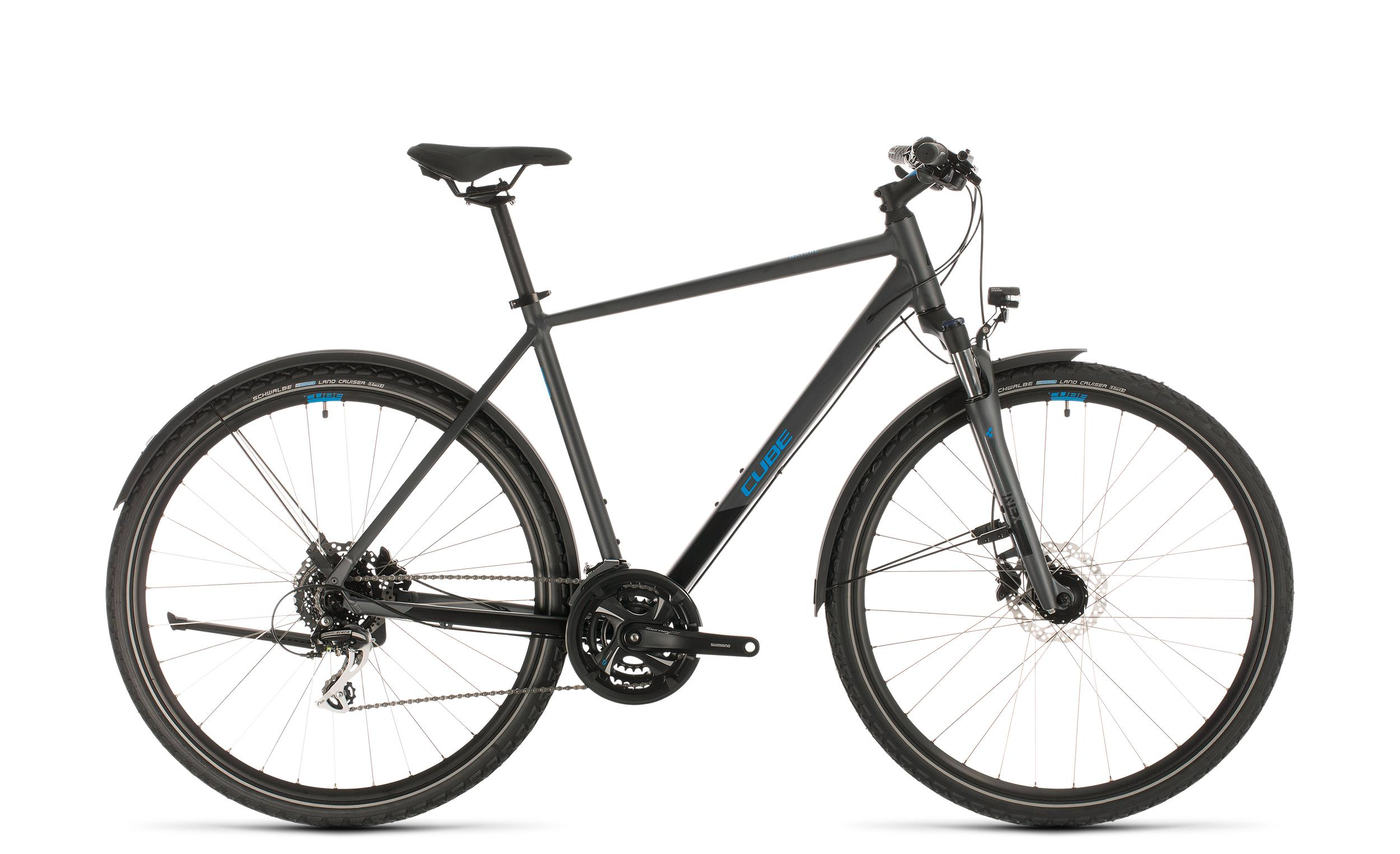 Cube Nature Allroad - Diamant -  iridium´n´blue 2020