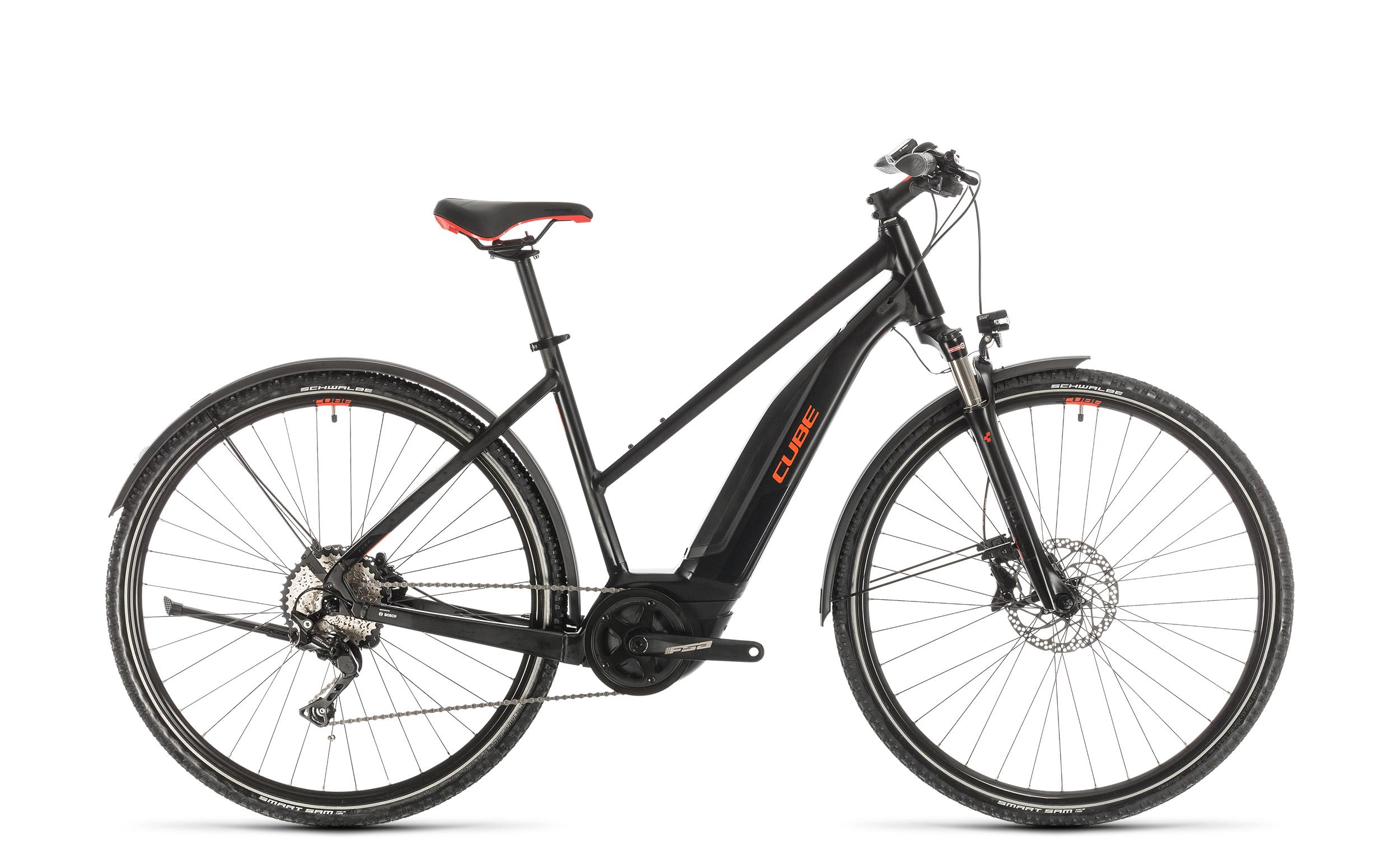Cube Nature Hybrid EXC 500 Allroad - Trapeze -  black´n´red 2020