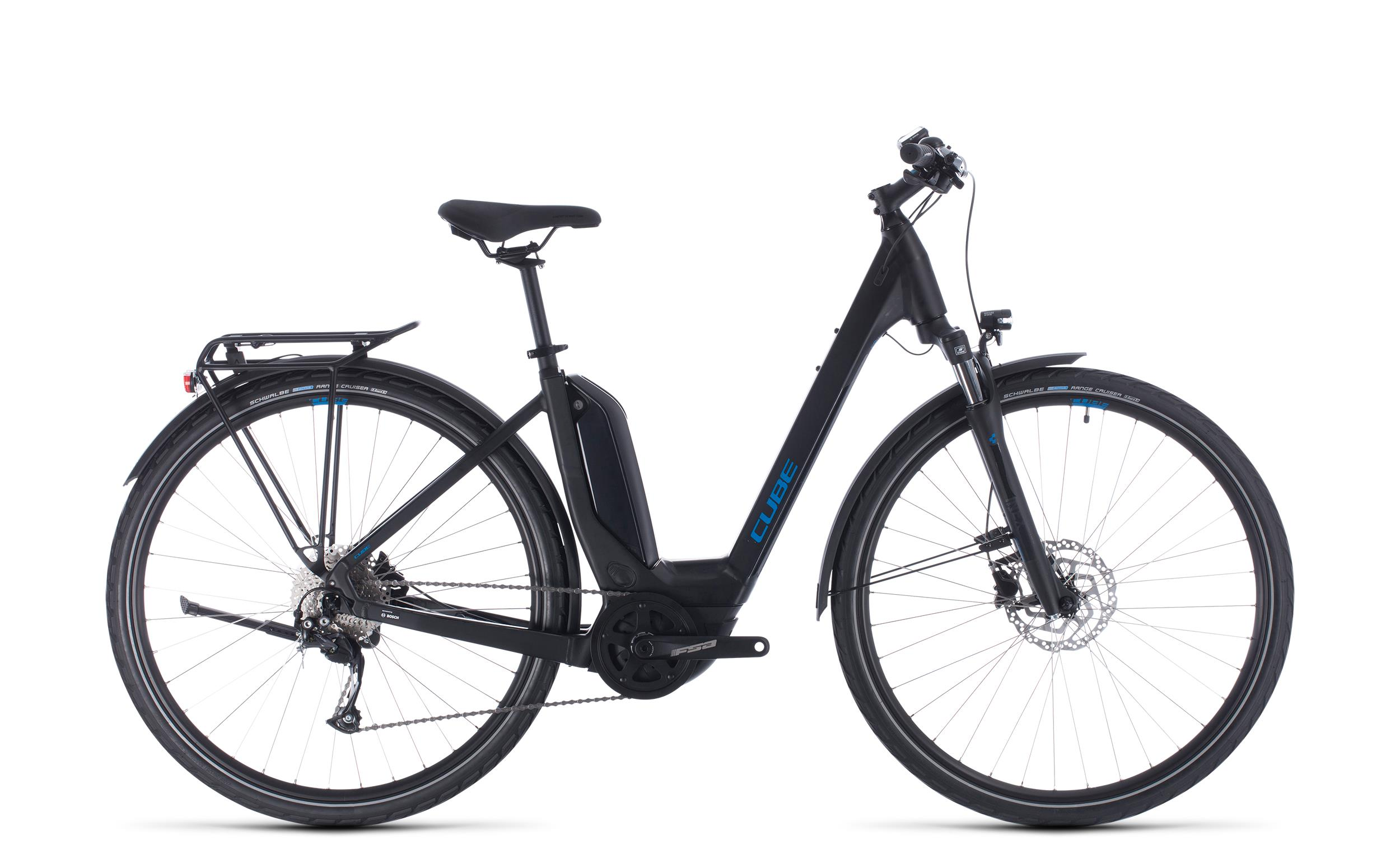Cube Touring Hybrid ONE 500 - Easy Entry -  black´n´blue 2020