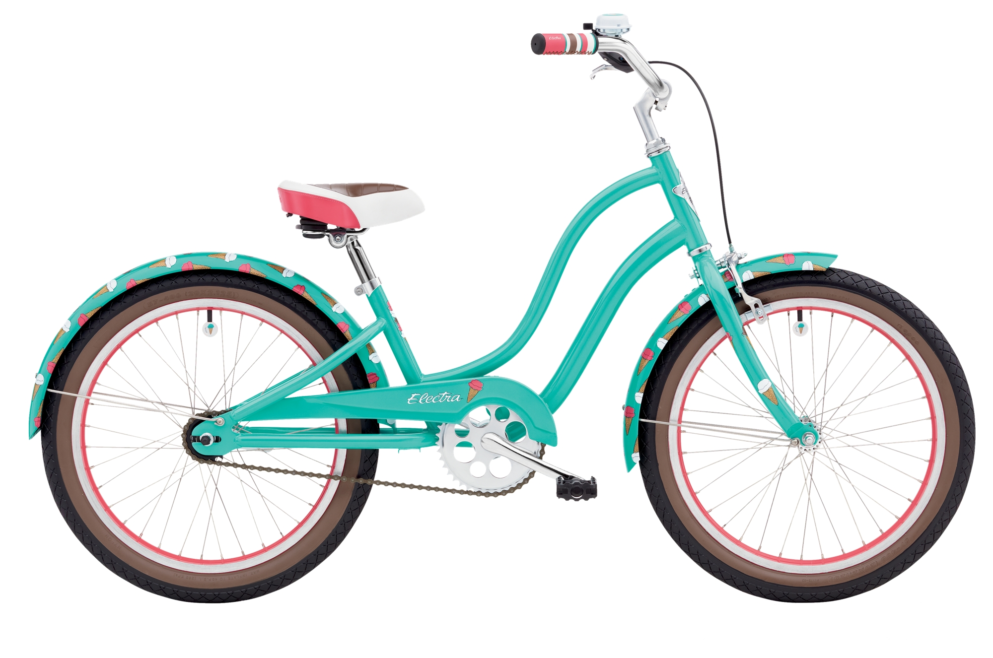 Electra SWEET RIDE 3I 20IN Girls GN Teal 2018 M