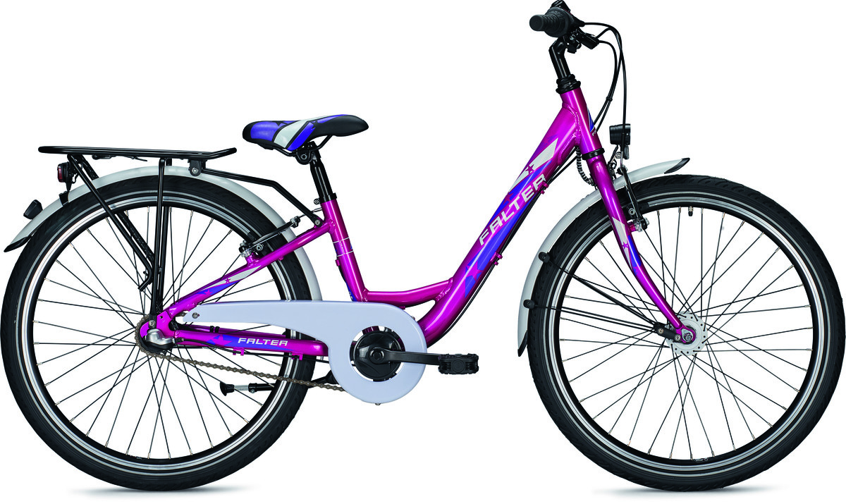 falter fx 403 nd wave 24 pink met bike bike. Black Bedroom Furniture Sets. Home Design Ideas