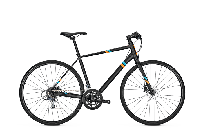 Focus ARRIBA Claris Magicblack matt/Orange/Blue 2018 - 28 Trapez -
