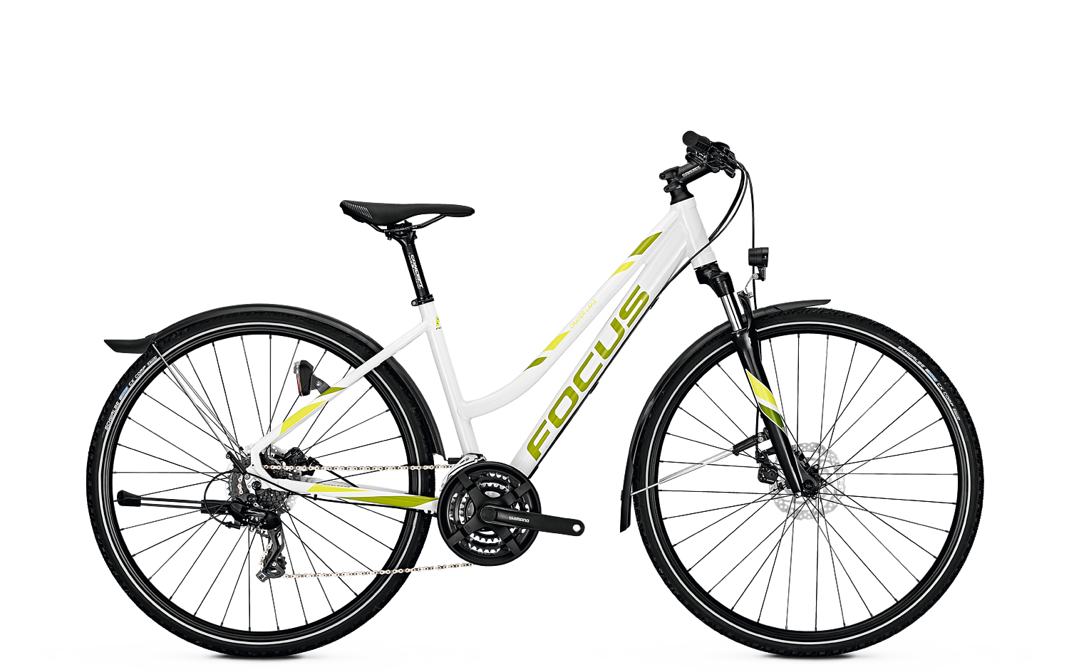 Focus CRATER LAKE Equipped White 2018 - 28 Trapez -