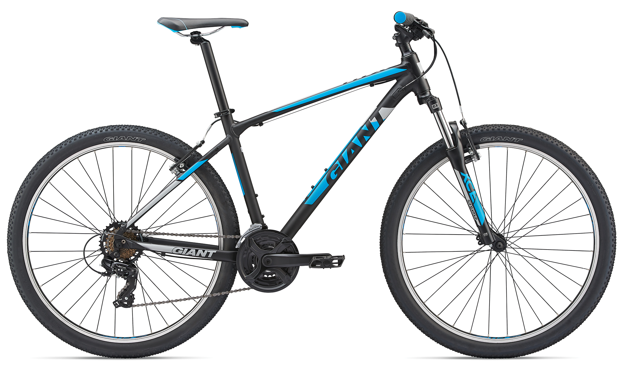 Giant ATX 3 Black-Neonblue Matt 2019