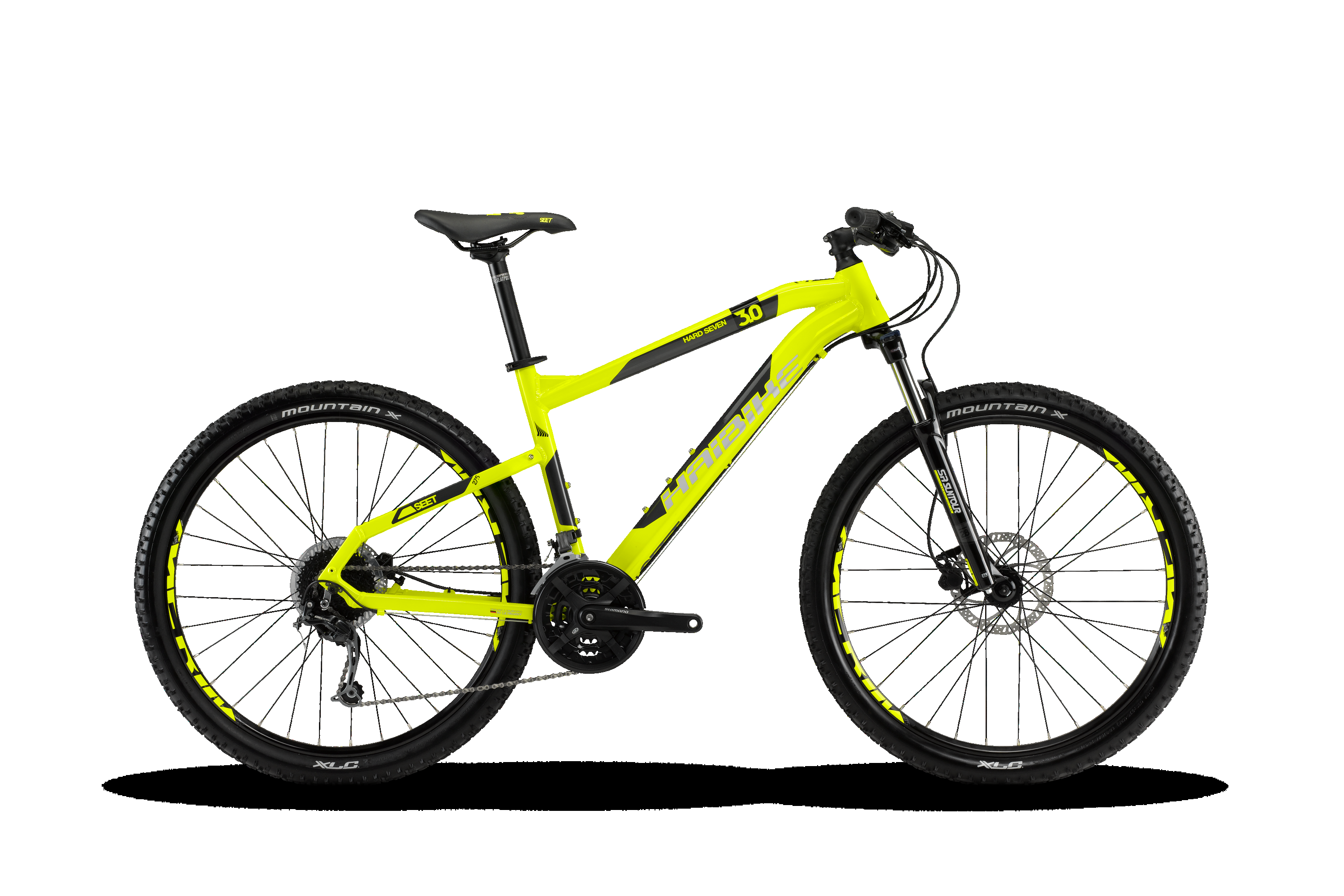 haibike seet hardseven 3 0 mtb hardtail lime anthrazit. Black Bedroom Furniture Sets. Home Design Ideas