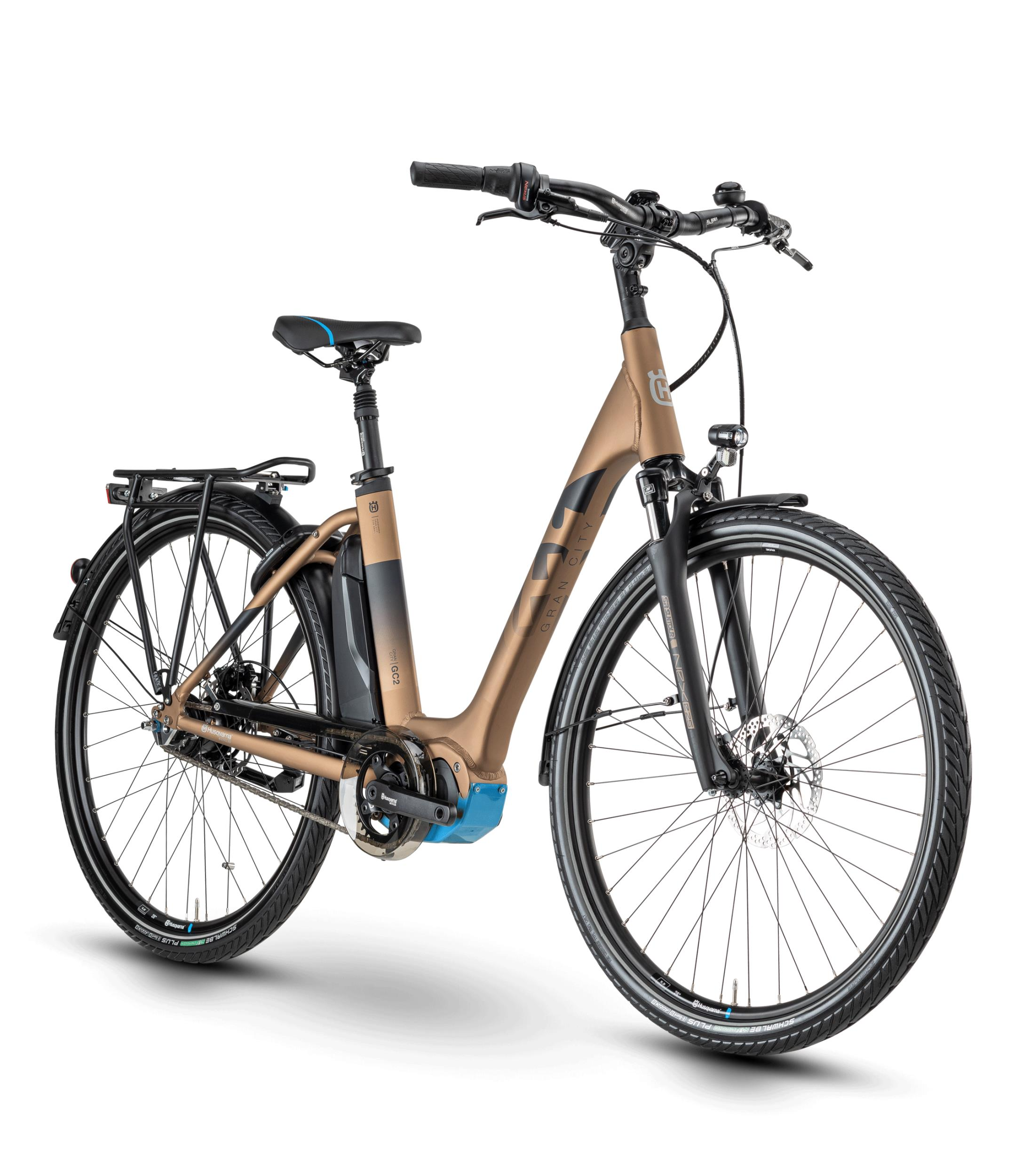 Husqvarna Gran City 2 CB Bronze / Black / Cyan
