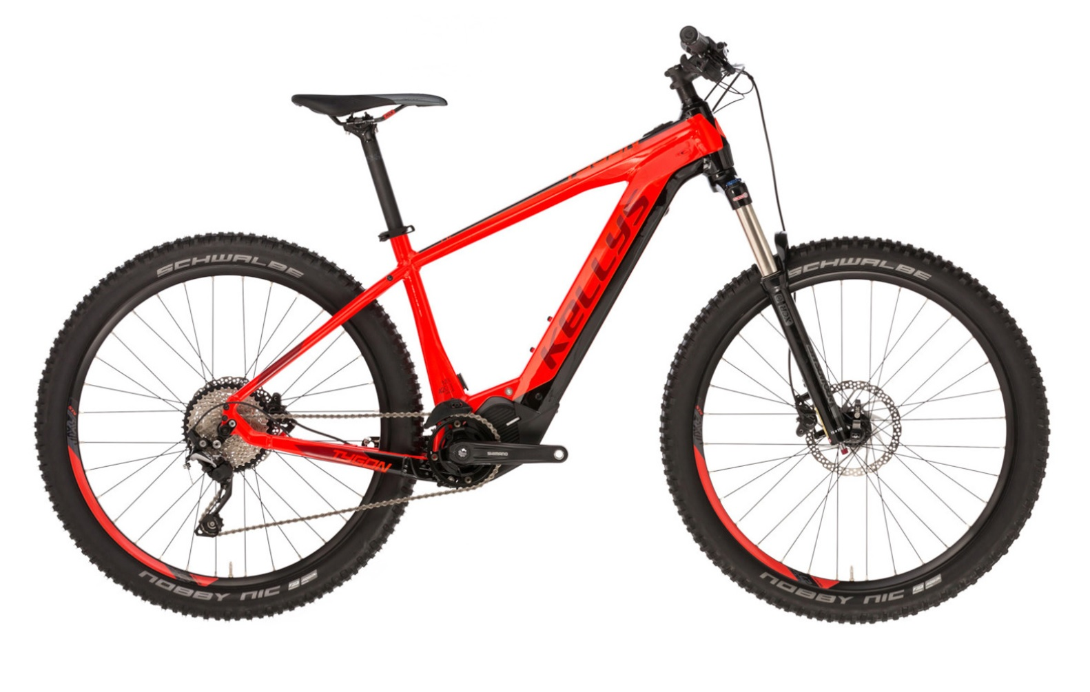 """KELLYS Tygon 50 Red 2020 - 630Wh 29"""" -"""