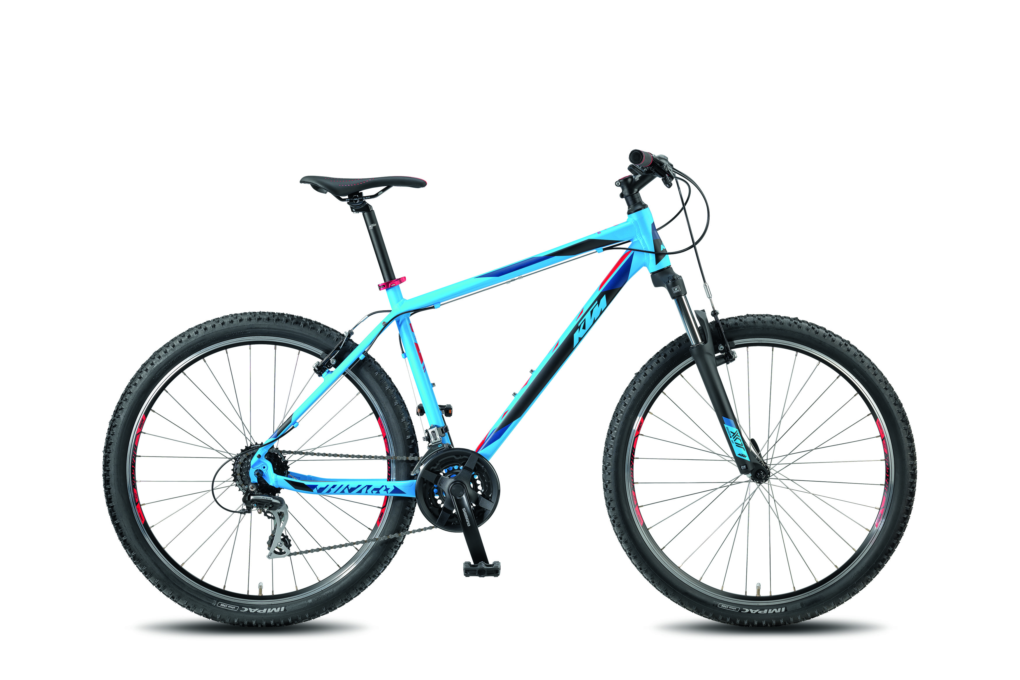 KTM CHICAGO 27.24 CLASSIC - CLASSIC -  matt>marseilleblue (black red) 2018