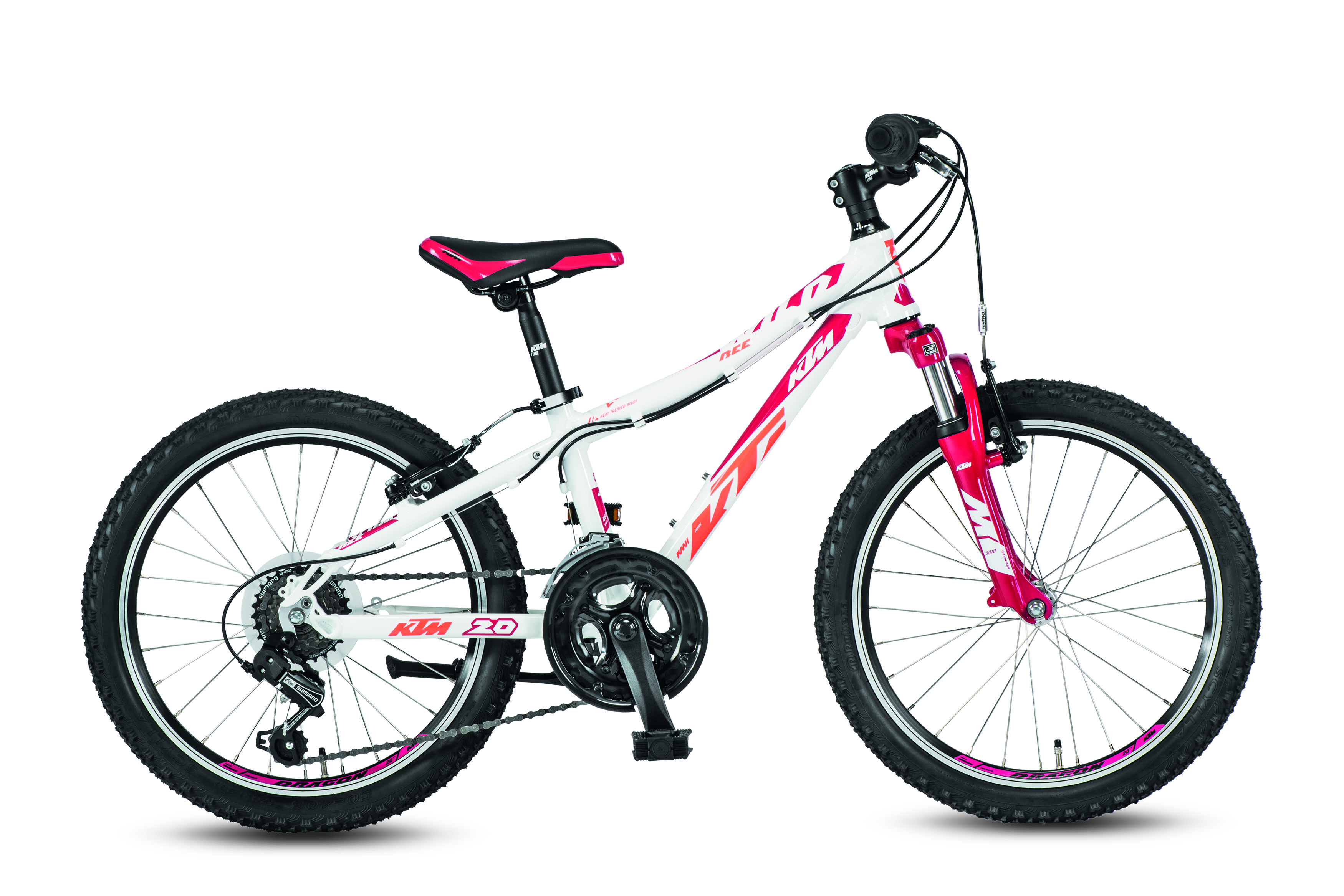 KTM WILD Bee 20.12 12s TY21 white (berry coral) 2017 27