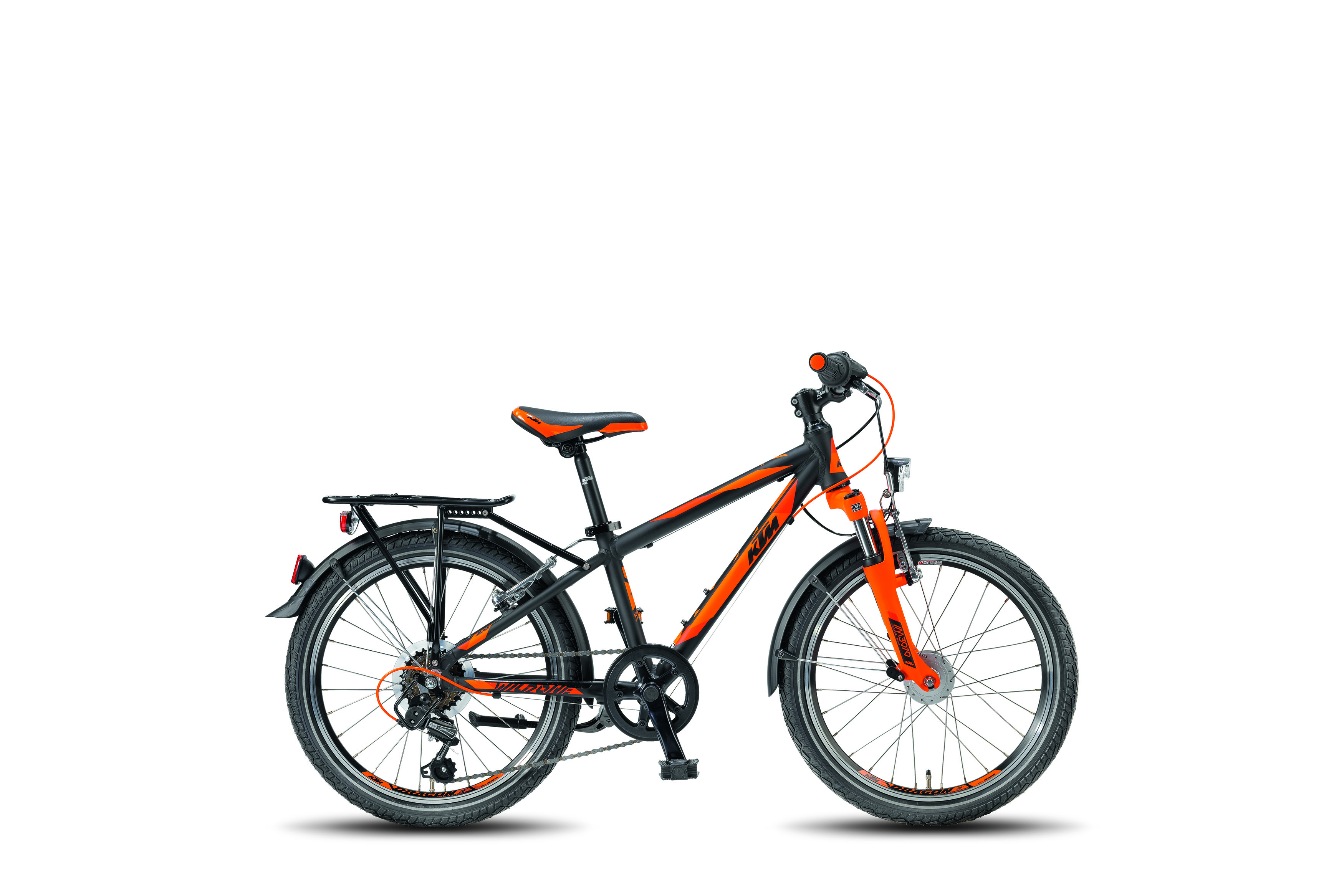 KTM WILD ONE 20.6 ATB black matt (orange) 2018
