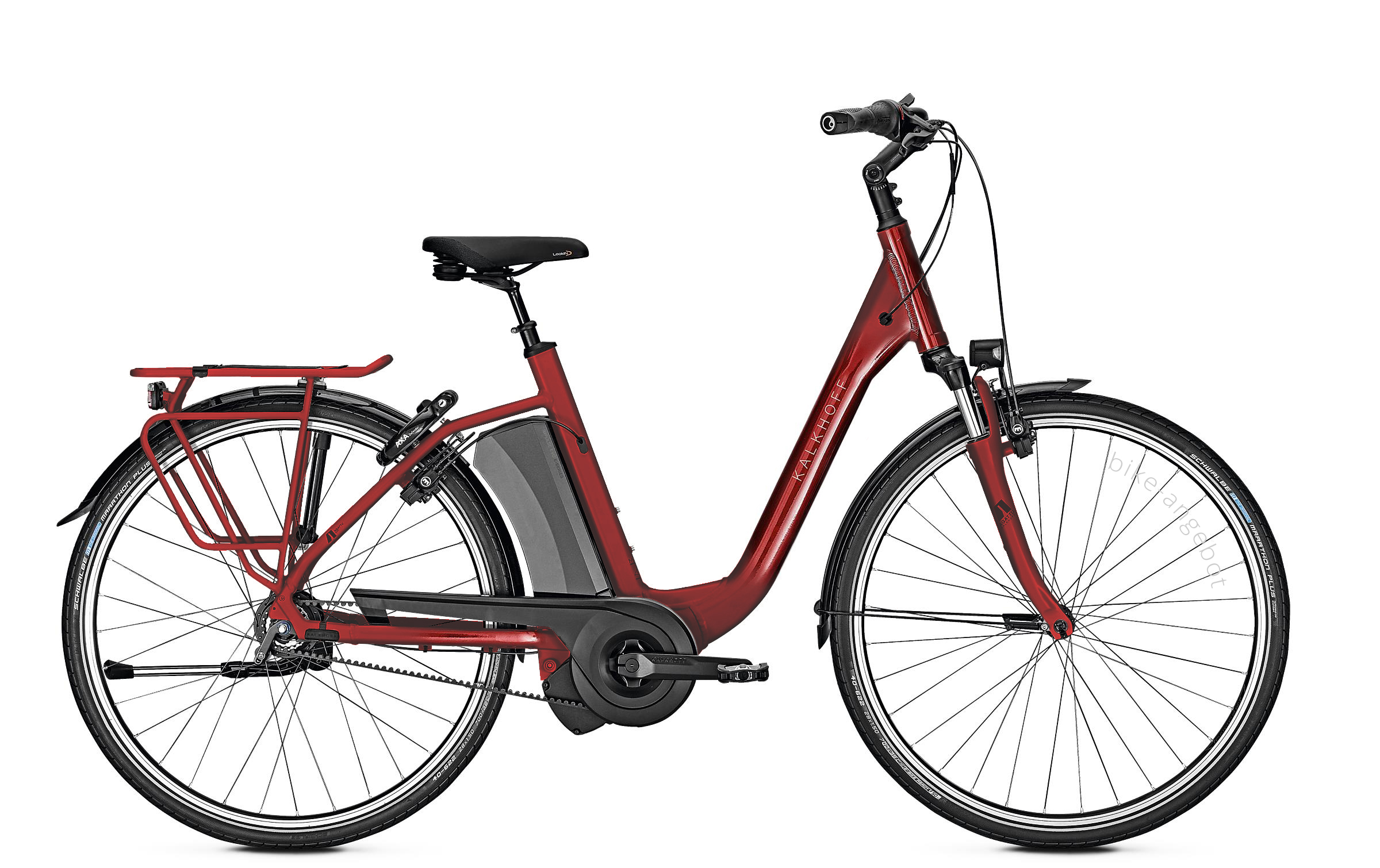 Kalkhoff AGATTU 3.I EXCITE - 26 Comfort 630 Wh -  winered glossy 2019