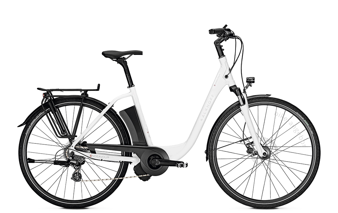 Kalkhoff ENDEAVOUR 1.I MOVE - 28 Comfort 400 Wh -  white glossy 2019