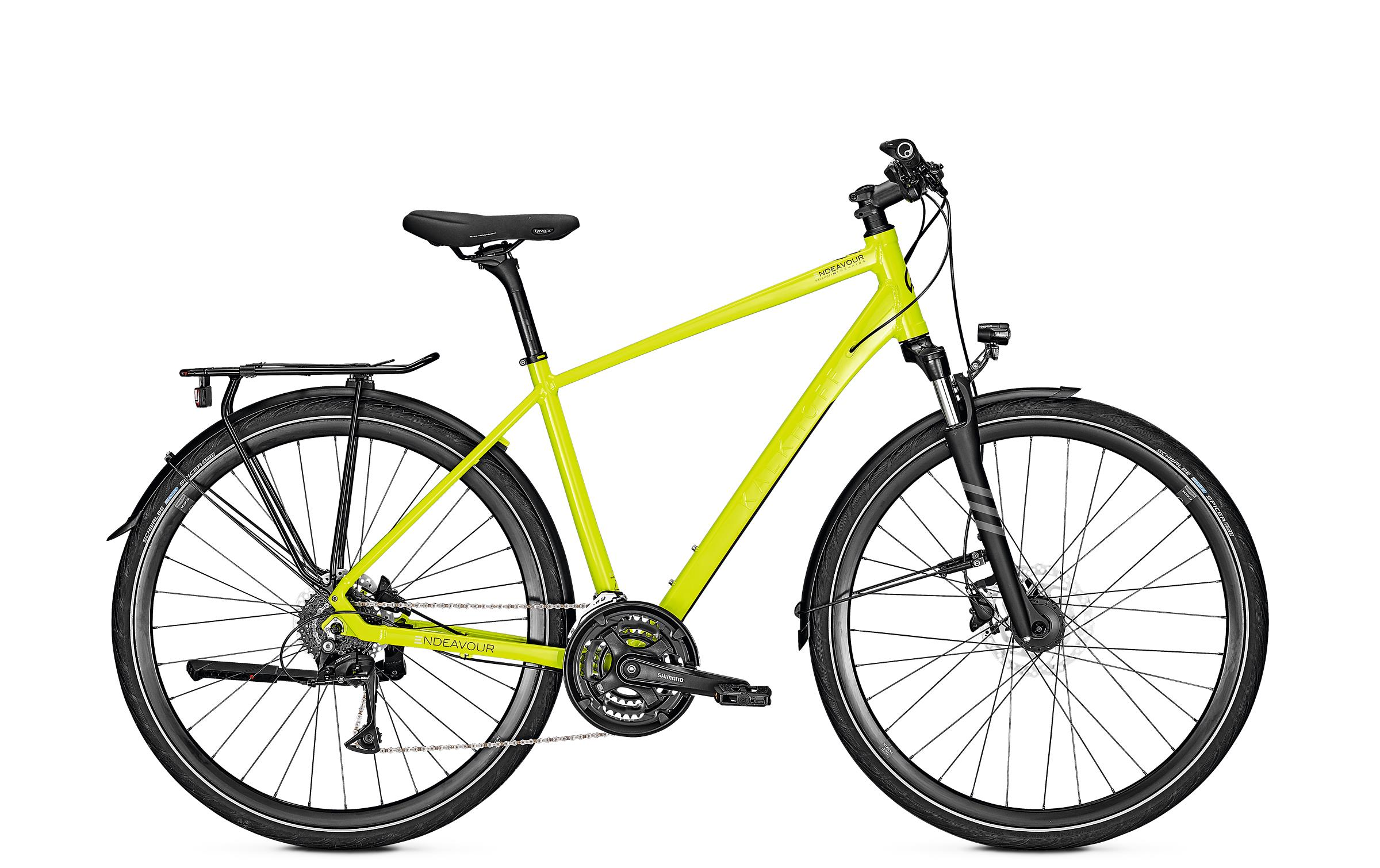 Kalkhoff ENDEAVOUR 24 - 28 Diamant  Wh -  limegreen glossy 2019