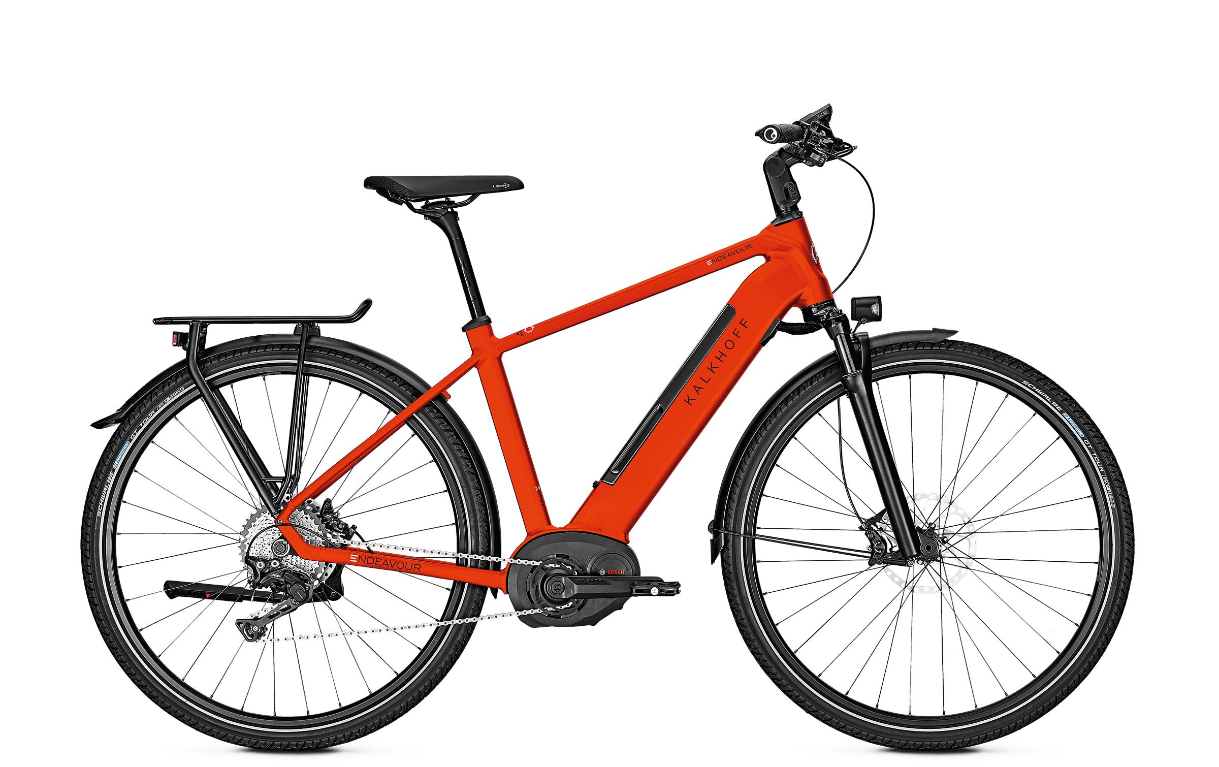 Kalkhoff ENDEAVOUR 5.B EXCITE - 28 Diamant 482 Wh -  firered glossy 2019