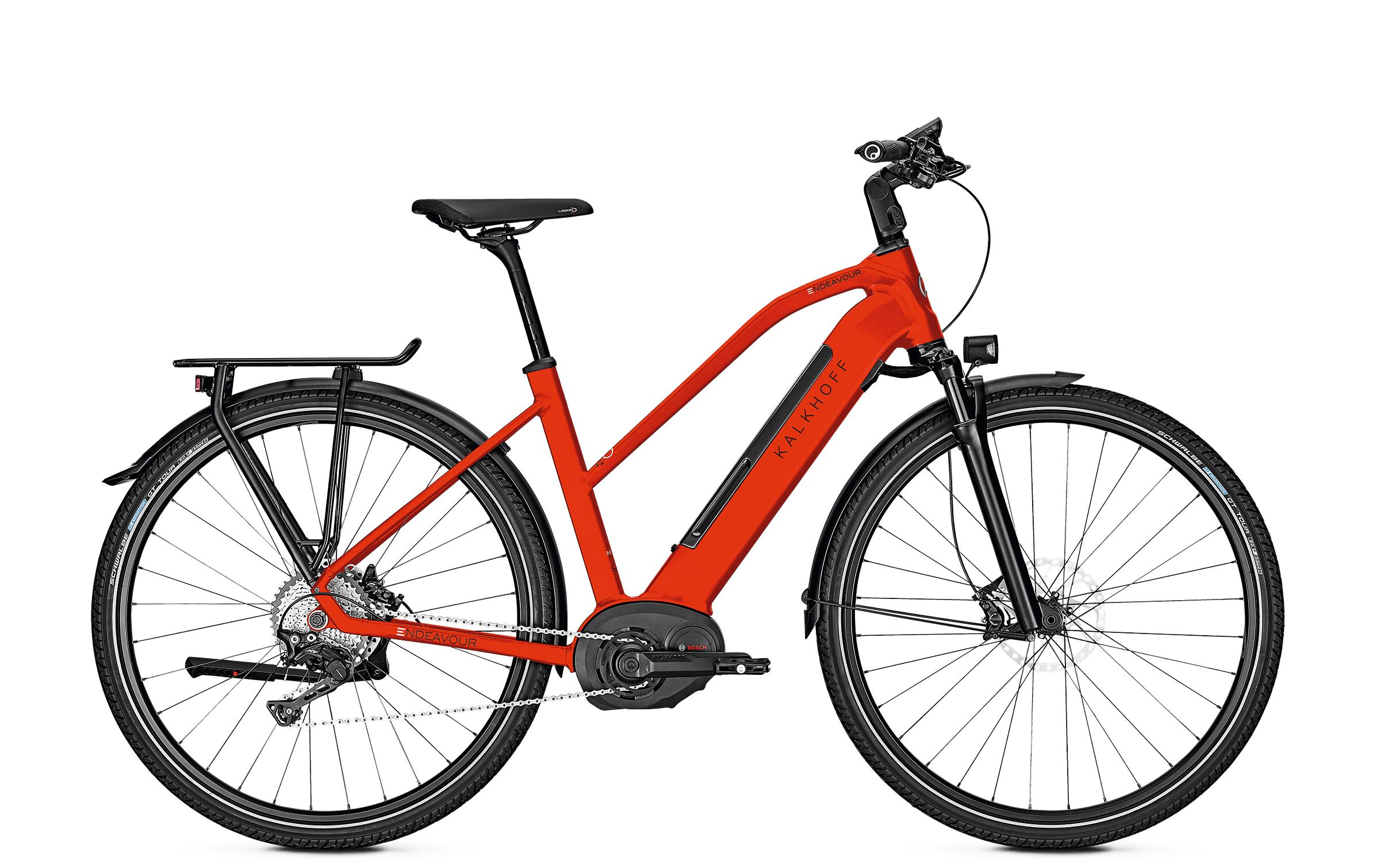 Kalkhoff ENDEAVOUR 5.B EXCITE - 28 Trapez 482 Wh -  firered glossy 2019