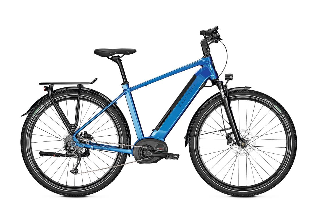 Kalkhoff ENDEAVOUR 5.B XXL pacificblue glossy 2019 - 28 Diamant 482 Wh -  58
